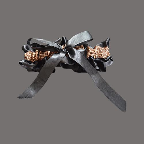 атлас withleopard печати свадьба подвязки Lightinthebox 192.000