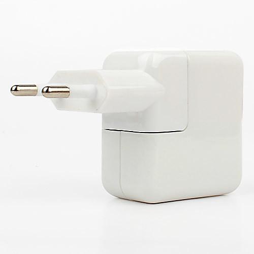 ЕС Plug Dual USB адаптер порт путешествия зарядное устройство AC с светом водить для IPAD IPHONE 6 iPhone 6 плюс и ставку (110V-240V, 2.1A) Lightinthebox 237.000