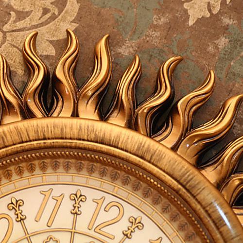Старинные настенные часы в форме солнца из полирезины Lightinthebox 3437.000