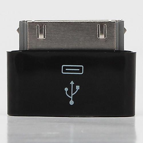 Micro USB женщин и Apple 30 контактный заряд мужчин и синхронизации Адаптер для Ipad, iphone и ставку (черный) Lightinthebox 85.000
