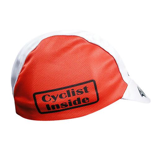 100% полиэстер kooplus-мужская шапка езда на велосипеде (красный)