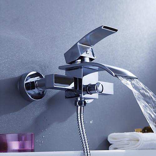 Современный смеситель-водопад для ванны (монтируется на стену) Lightinthebox 4296.000