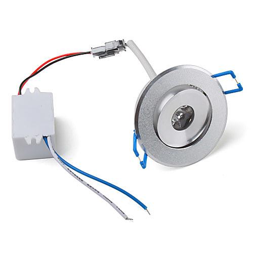 1W 100lm 3500K теплый белый свет Светодиодная лампа потолка (85-265В)