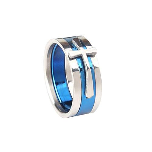 Кольцо с крестом из титановой стали Lightinthebox 214.000