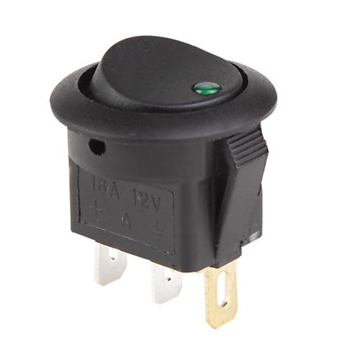 Автомобильные клавишные выключатели с красным/синим/зеленым индикатором (5 шт., 12 В) Lightinthebox 257.000