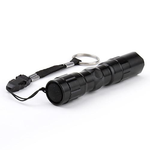 Полицейский светодиодный фонарь (1 режим, 50 лм, 1xAA, черный) Lightinthebox 126.000