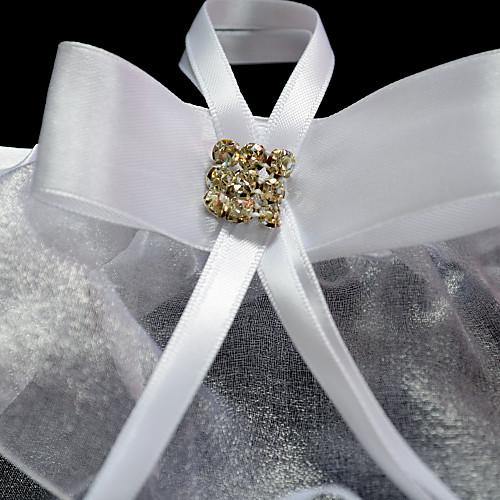 2-шт органза с Rhinestone / Ленты свадебные подвязки Lightinthebox 192.000