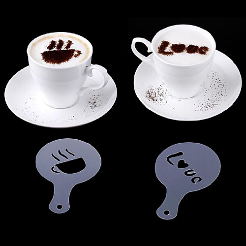 прекрасный кофе с молоком узоров инструменты (16 шт) Lightinthebox 300.000