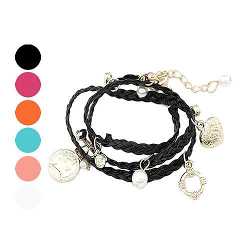 Мода многоэлементное Подвеска Weave браслет Lightinthebox 128.000