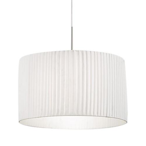 60W Comtemporary свет подвеска с 1 Свет в белый оттенок ткани Lightinthebox 10312.000