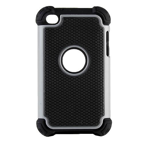 двойные съемные пластиковые и силиконовый чехол для Ipod Touch 4 (разных цветов) Lightinthebox 257.000