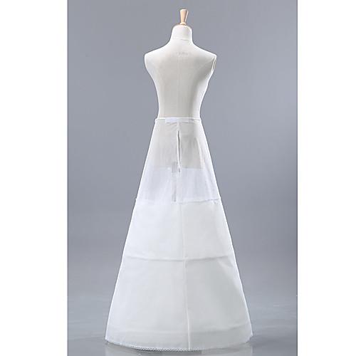 Очаровательная Spandex средняя полнота скольжения этаж Длина юбки женщин Свадебные Lightinthebox 1288.000