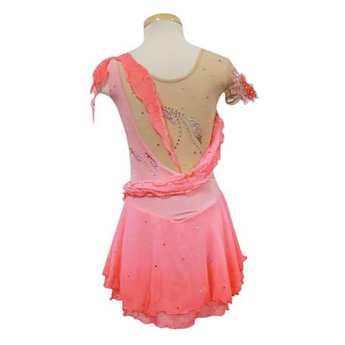 Платье без рукавов для фигурного катания, индивидуальный пошив