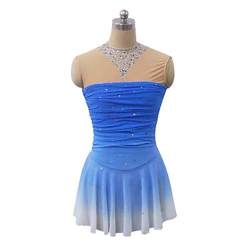 Платье без рукавов для фигурного катания. С вырезом на спине Lightinthebox 6874.000