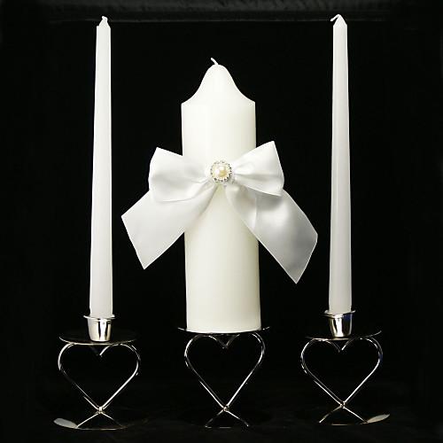 классические свадебные свечи единства с поясом лук (не включая подсвечник) Lightinthebox 708.000