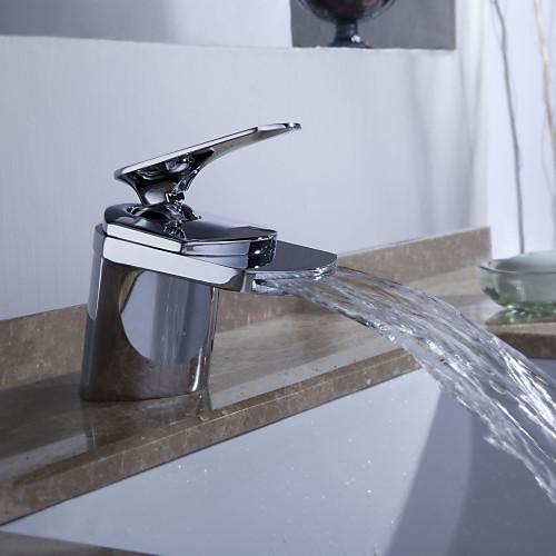 Sprinkle - от LightInTheBox - современный водопад ванной комнате раковина кран (хромированная отделка) Lightinthebox 2148.000