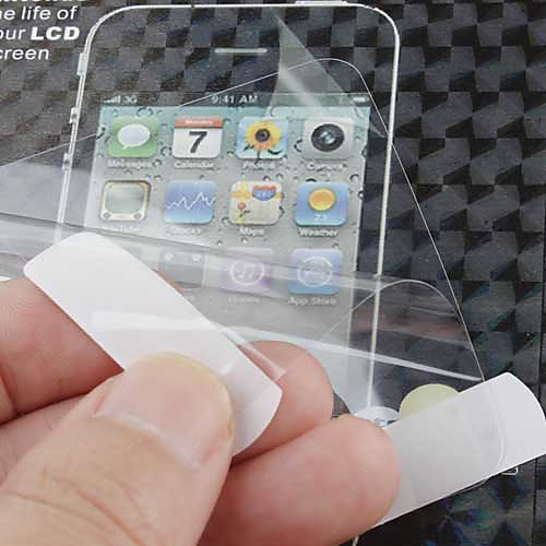 ЖК-экран протектор для HTC одна Х (прозрачный) Lightinthebox 42.000