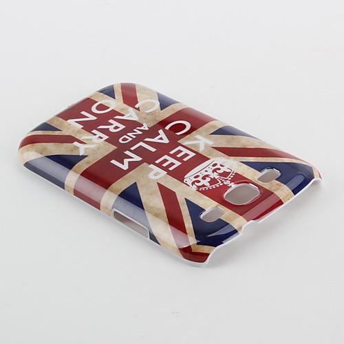 Чехол с флагом Великобритании и надписью для Samsung Galaxy S3 I9300 (разноцветный) Lightinthebox 149.000