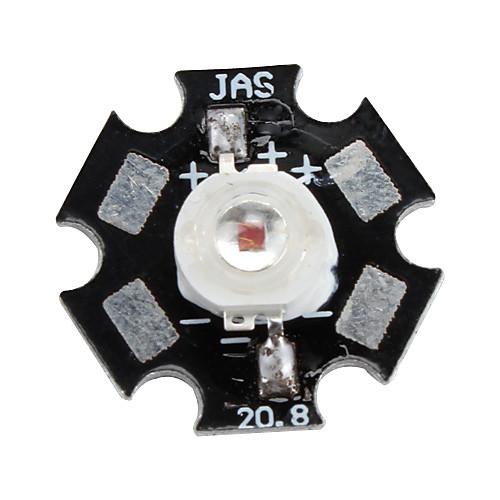 Epistar 620-630 3W 30-40lm 700mAh красный светодиод лампочка с алюминиевой пластины (2,4 2,6) Lightinthebox 85.000