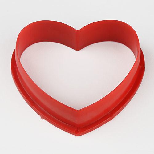 помадной торт DIY украшения красное печенье в форме сердца резак печенья формы (6-Pack) Lightinthebox 171.000