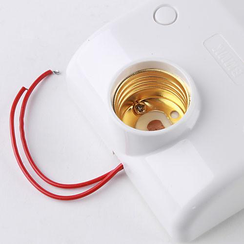 e27 плагин инфракрасный датчик движения активированного привело держатель лампы (180-240V) Lightinthebox 515.000