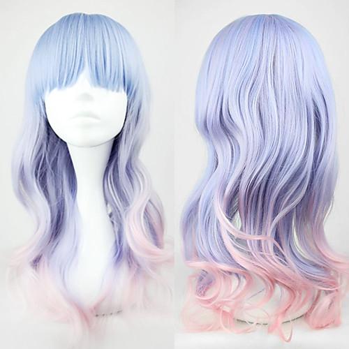 Парик для косплея Лолиты голубой и розовый 55 см Lightinthebox 858.000