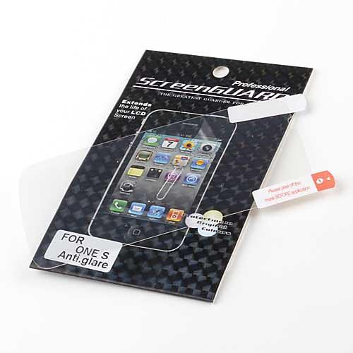 антибликовым ЖК-экран протектор для HTC один S (прозрачный) Lightinthebox 42.000