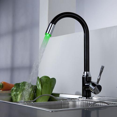 Sprinkle от Lightinthebox - кухонный светодиодный смеситель (меняет цвета) Lightinthebox 2577.000
