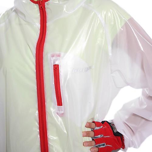 100% полиэстер JAGGAD-женский плащ с 3 Передняя сумки Lightinthebox 1288.000
