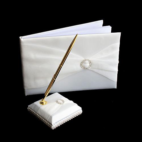 Rhinestone Свадебная Гостевая книга и перо набор Lightinthebox