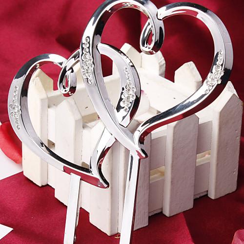 Классическая верхушка для свадебного торта в форме двух сердец Lightinthebox 171.000