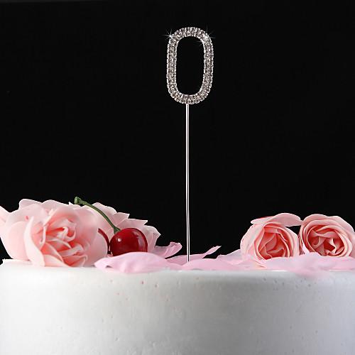 блестящими стразами nunmer торт цилиндр (палка длиной 12 см) Lightinthebox 194.000