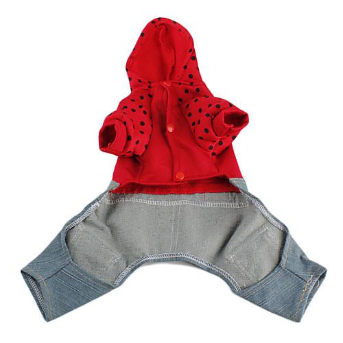 пятнистый балахон с джинсовые комбинезоны для собак (XS-XL, разных цветов) Lightinthebox 549.000
