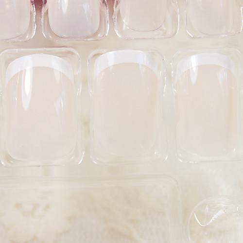 полное покрытие обнаженной ногти акриловые и советы с ногтей клей Lightinthebox 171.000