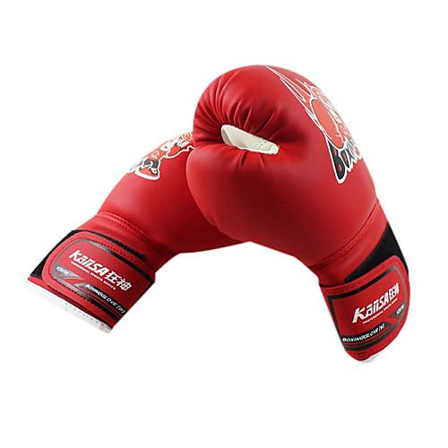 Детские боксерские перчатки из высококачественной кожи. Универсальный размер Lightinthebox
