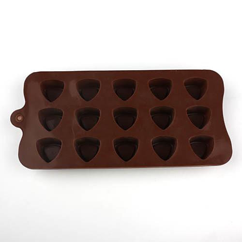 силиконовая форма треугольной формы Сахарные для конфет / печенья / желе / шоколад Lightinthebox 278.000