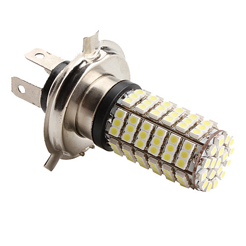 LED лампа для машины (DC 12V), белый свет, H4 4.2W 126x3528 SMD 6500-7000K Lightinthebox 429.000
