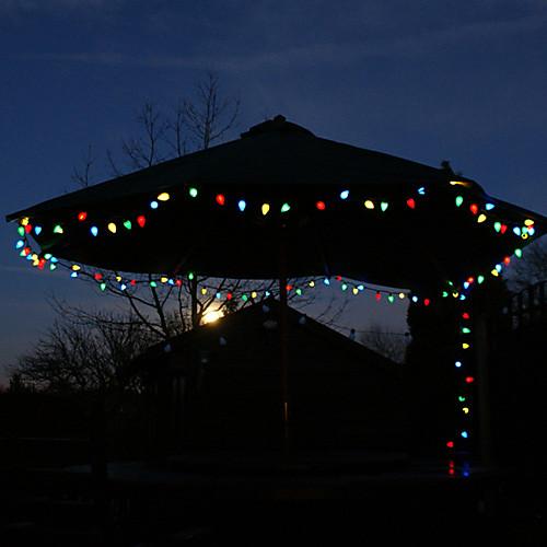 100 красочных уличных светодиодных Солнечная гирлянды рождественских подарков Decor лампы Lightinthebox 2148.000