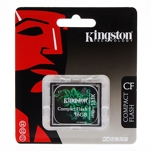 Kingston 16GB Elite Pro 133X Compact Flash CF карты памяти Lightinthebox 730.000