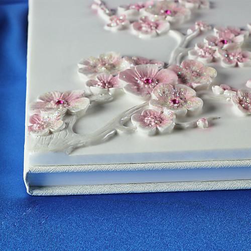 красивая смолы сакуры свадьбы гостевая книга Lightinthebox