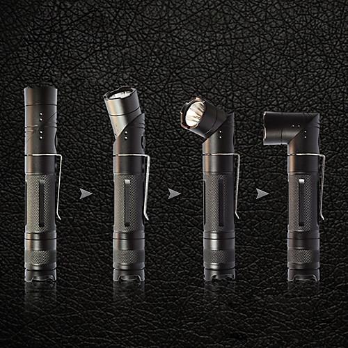 Rofis JR20 трансформер L-образный 7-Mode Cree R5 светодиодный фонарик с зажимом (310LM, 2xCR123A/16340, 1x18650) Lightinthebox 3308.000