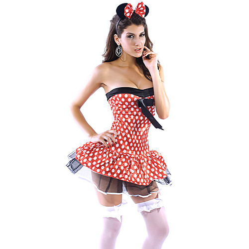 Home Minnie Mouse Costume.