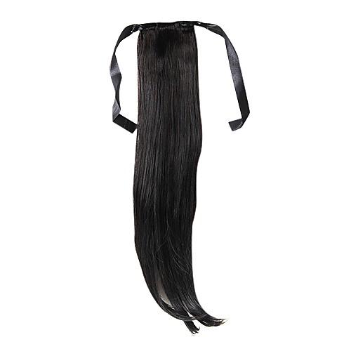 22-дюймовый 1 шт каштановые хвостики волос Lightinthebox 429.000