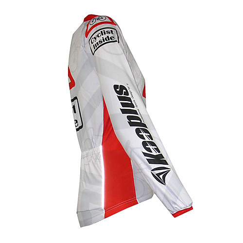 Kooplus Quick Dry Мужская с длинным рукавом Велоспорт-Джерси (Велоспорт внутри) Lightinthebox 1288.000