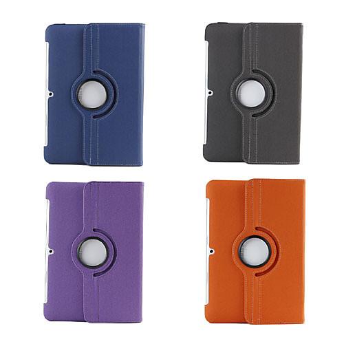 Саржевый чехол с подставкой, вращается на 360 град. для Samsung Galaxy Tab2 10.1 P5100/P5110 Lightinthebox 773.000