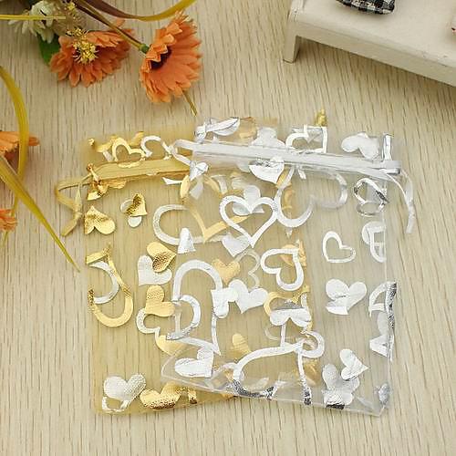 Мешочки с лентой для сувениров, дизайн