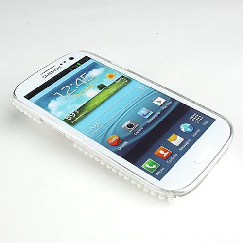 Жесткий чехол для Samsung Galaxy S3 I9300 со стразами (разные цвета) Lightinthebox 214.000