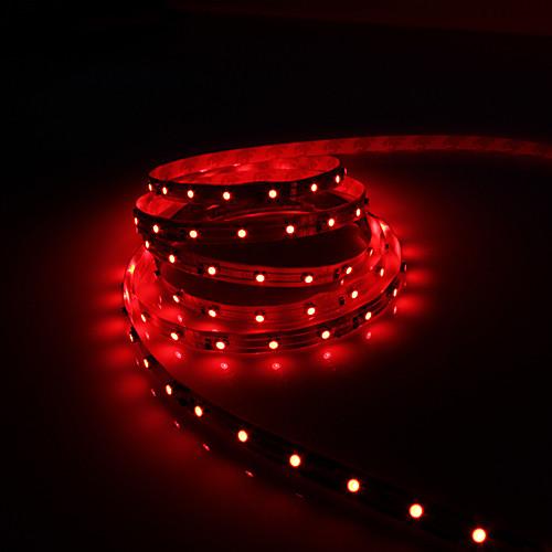 5м 5w 300x3528 SMD красный свет Гибкие светодиодные ленты лампы (DC 12V) Lightinthebox 687.000