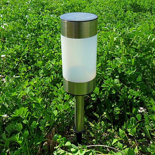 Комплект из 2 Солнечная светодиодные Garden Path Маркер Мини лампа Patio Боллард Lightinthebox 1460.000