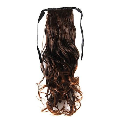 16-дюймовый 1 шт светло-коричневые хвостики волос Lightinthebox 429.000